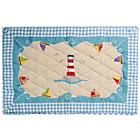 more details on Win Green Boat House Cotton Floor Quilt - Large.