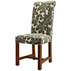 more details on Pacific Stone Patterned Floral Chair with Solid Oak Legs.