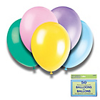 more details on Assorted Pastel Colours 12 Inch Premium Balloons - Pack of 5