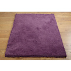 more details on Super Soft Deep Pile Shaggy Rug - 110x170cm - Plum.