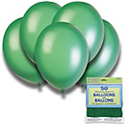 more details on Hemlock Green 12 Inch Premium Balloons - Pack of 50.