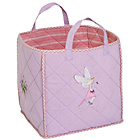 more details on Win Green Quilted Fairy Cottage Pink Toy Bag.
