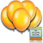 more details on Citrus Orange 12 Inch Premium Balloons - Pack of 50.