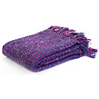 more details on Sabichi Soft Knot Throw - Purple.
