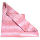 more details on Win Green Multi Stripe Cotton Floor Quilt - Rose.