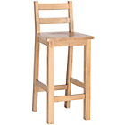 more details on Worthing Traditional Wooden Bar Stool - Oak.