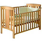 more details on East Coast Katie Drop Side Cot - Beech.
