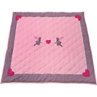 more details on Kiddiewinkles Fairy Cotton Floor Quilt - Small.