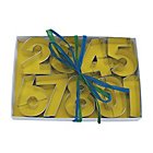 more details on Numbers Cookie Cutter Set - Assorted.