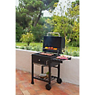 more details on American charcoal smoker BBQ