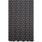 more details on Sabichi Black Spot Shower Curtain - Black.
