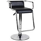 more details on Eliza Tinsley Cerci Black Chrome Frame Bar Stool - Set of 2.
