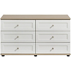 more details on Arianna 6 Drawer Chest - White.