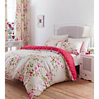 more details on Catherine Lansfield Canterbury Red Duvet Cover Set - Single.