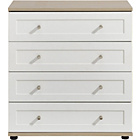more details on Arianna 4 Drawer Chest - White.