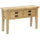 more details on Worthing Traditional 2 Drawer Console Table - Pine.