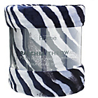 more details on Catherine Lansfield Zebra Throw - Black and White.