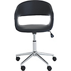 more details on Habitat Jenson PU Leather Office Chair - Black.