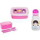 more details on My Little Lunch Little Blossom Lunch Box and Bottle Set.