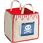 more details on Win Green Beige Quilted Pirate Shack Toy Bag.