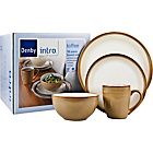 more details on Denby 16 Piece Dinner Set - Toffee.