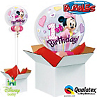 more details on Minnie Mouse 1st Birthday Bubble Balloon in a Box.