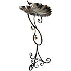 more details on Gardman Ornate Leaf Pedestal Bird Bath.