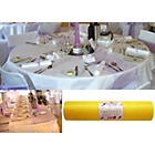 more details on Organza 25 Metre Decorative Roll - Yellow.