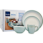 more details on Denby 15 Piece Dinner Set - Light Blue.
