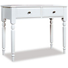 more details on Cadogan Dressing Table with 2 Drawers - Off White.