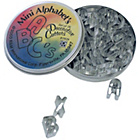 more details on Mini Alphabet Cookie Cutter Set - Assorted.
