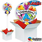 more details on Congratulations Banner Blast Bubble Balloon in a Box.