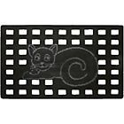 more details on Cat Rubber Scraper Doormat.