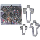 more details on Crosses Cookie Cutter Set - Assorted.