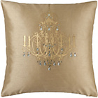 more details on Catherine Lansfield Chandelier Cushion - Gold.