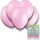 more details on Powder Pink 12 Inch Premium Balloons - Pack of 50.