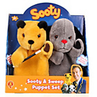 more details on Golden Bear Sooty and Sweep Puppet Set.