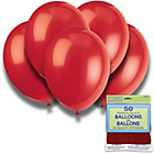 more details on Cherry Red 12 Inch Premium Balloons - Pack of 50.