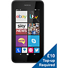 more details on EE Nokia 530 Mobile Phone - Dark Grey.