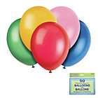 more details on Assorted Colours 12 Inch Premium Balloons - Pack of 50.