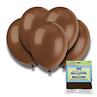 more details on Chocolate Brown 12 Inch Premium Balloons - Pack of 50.