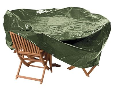 Buy HOME Heavy Duty Extra Oval Patio Set Cover at Argos Your