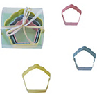 more details on Sweet Treats Cupcake Cookie Cutter Set - Assorted.