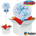 more details on Baby Blue Bear Double Bubble Balloon in a Box.