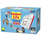 more details on Nintendo 2DS White/Red and Tomodachi Life Game.
