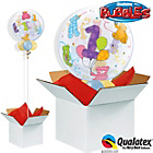 more details on Age 1 Teddy Bears Bubble Balloon in a Box.