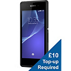 more details on Vodafone Sony Xperia E3 Mobile Phone - Black.