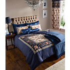 more details on Catherine Lansfield Rochester Classique Cushion - Navy.