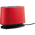 Bodum Bistro 2 Slice Toaster - Red