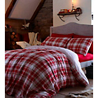 more details on Catherine Lansfield Red Tartan Duvet Cover Set - Single.